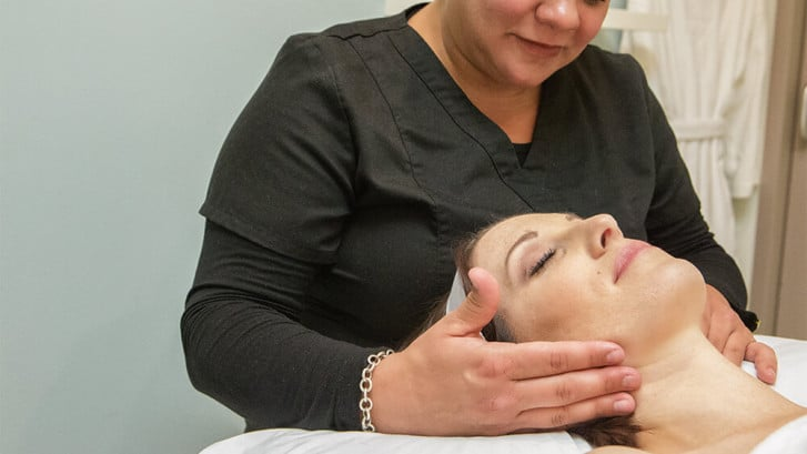 skin exam and skin maintenance
